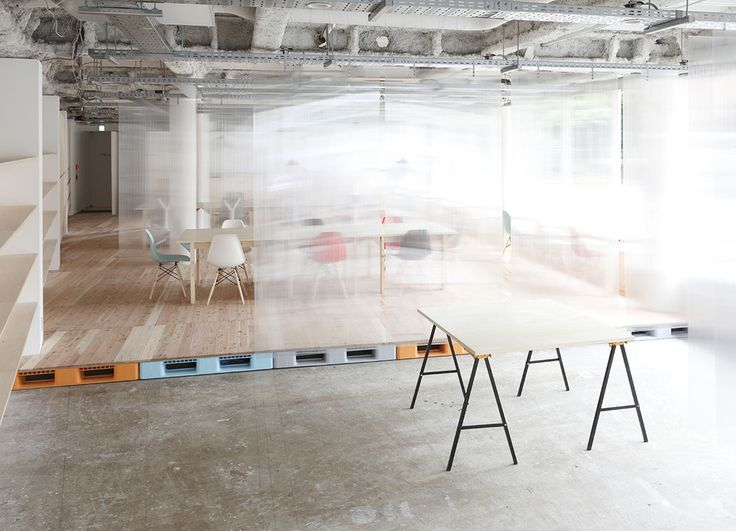 Mozilla Japan's Open Source Factory Space - Office Snapshots