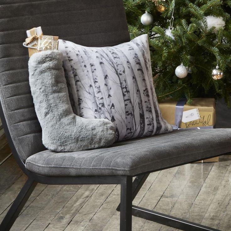 Faux Fur Christmas Stocking | Bouclair.com