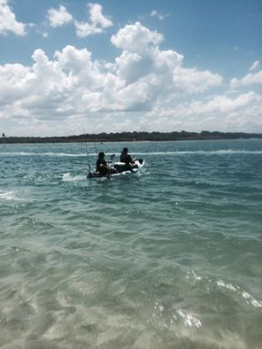 Here's some guests enjoying the sun in the water! Thanks for the picture Belynda Jane Abbott on Facebook. #noosariver