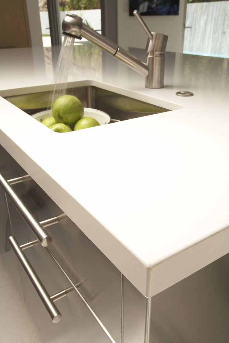 122 best images about caesarstone 2141 blizzard on for 2 inch quartz countertop