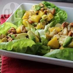 Chicken with Mangoes and Avocado @ allrecipes.com.au