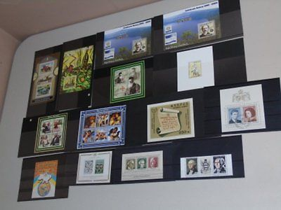Stamp Pickers WW Worldwide MNH Souvenir Sheets Collection Lot $90+