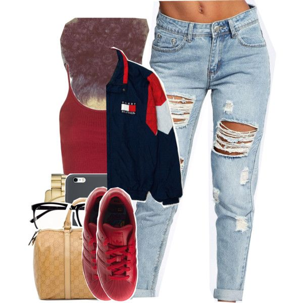 A fashion look from August 2016 featuring Topshop tops, Boohoo jeans and adidas sneakers. Browse and shop related looks.