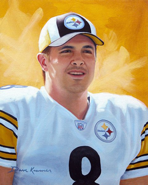 Tommy Maddox, Steelers by Dave Kramer.