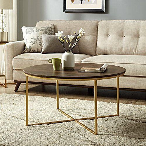 Amazon Com We Furniture Azf36alctgcr Glass Coffee Table Glass