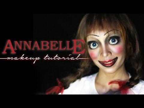 Annabelle Doll Makeup Tutorial | Halloween Series - YouTube