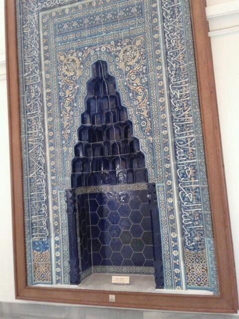 Mihrab, iznik tile