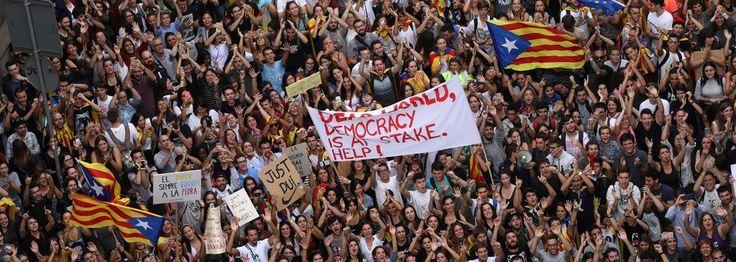 Catalunha ensina o Brasil como se fazer greve-geral: tudo parado, bloqueado, e todos nas ruas