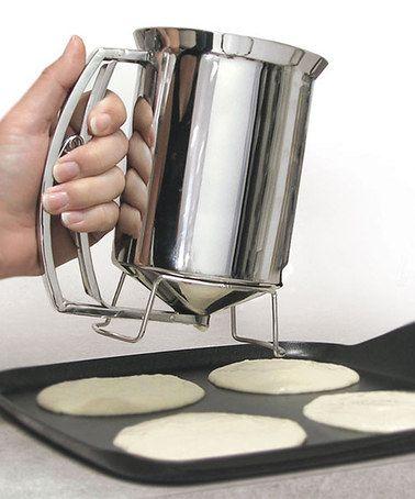 I need a pancake batter dispenser!