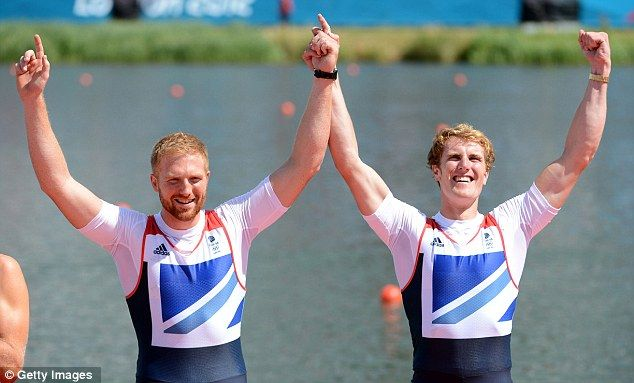 William Satch and George Nash - Bronze, Men's Pairs Rowing