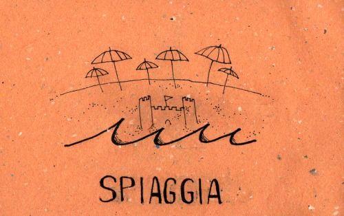 Learning Italian Language ~ Spiaggia (Beach)
