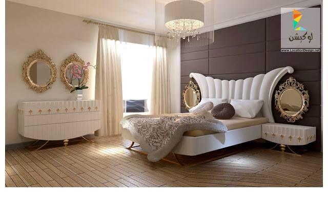 أحدث كتالوج غرف نوم عرسان كلاسيك و مودرن بأكثر من 100 تصميم جديد لوكشين ديزين نت Bedroom Furniture Design Bedroom Bed Design Bedroom Makeover