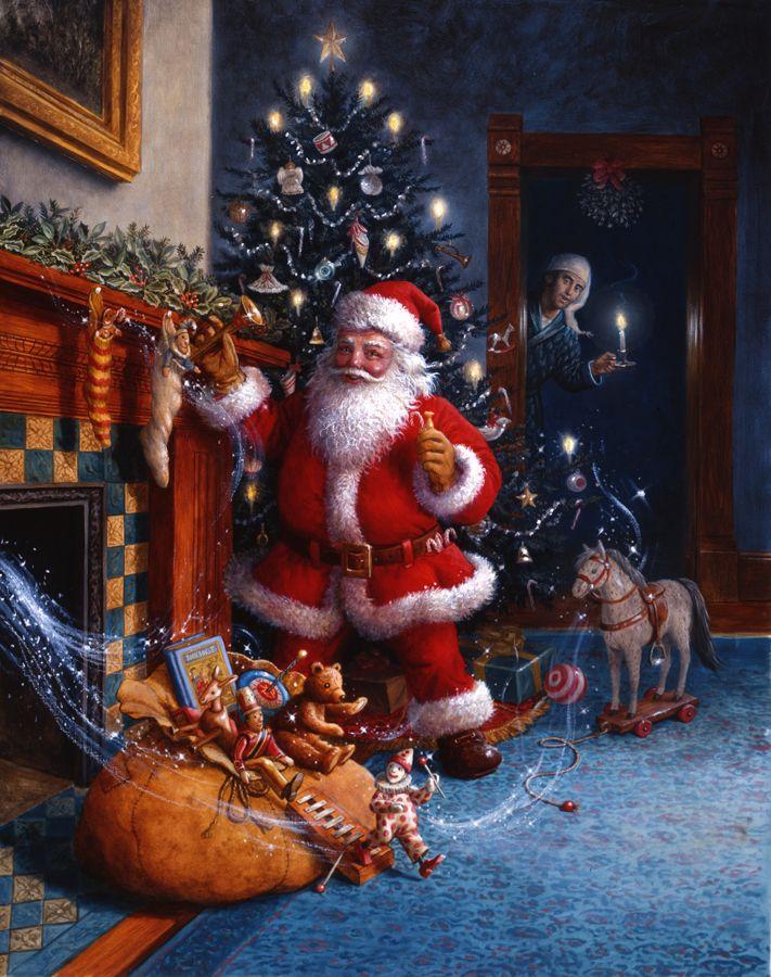 Santa's Toys (by Ruth Sanderson)