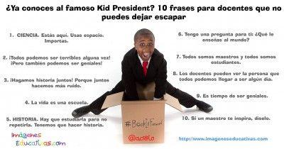 ¿Ya conoces al famoso Kid President? 10 frases para docentes que no puedes dejar escapar