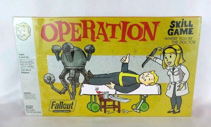 USAopoly Fallout S.P.E.C.I.A.L. Edition Operation Board Game Hasbro Sealed! #Hasbro