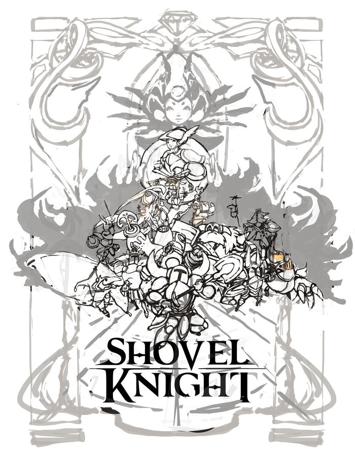 Shovel Knight Concept Poster