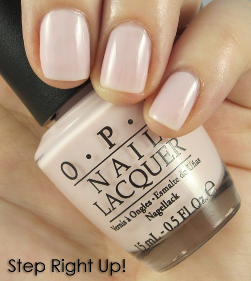 We might need to give up on Bubble Bath :( OPI - Step right up