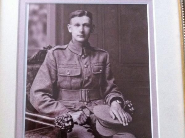 Clare Hart's Great Great Uncle Private Arthur Staddon, killed 13 April 1918 #WeRemember #WW1
