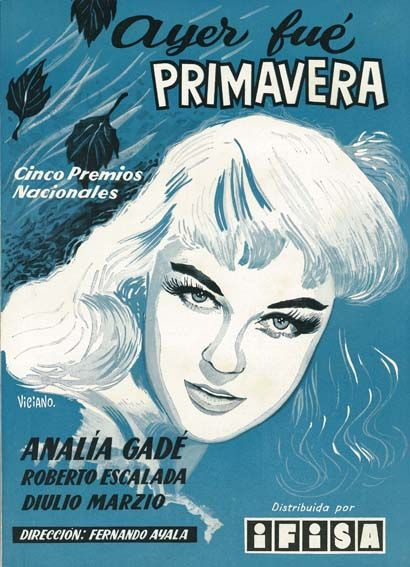 Ayer fue primavera (1955) de Fernando Ayala - tt0047848