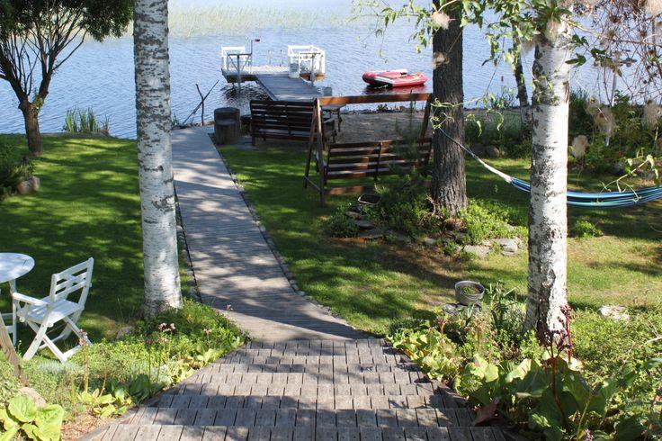 #kesä #luonto #piha #Puruvesi  #Punkaharju #Suomi #houseforsale #Finland #summer #garden #lake