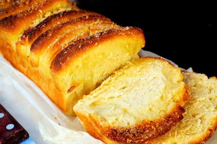 Pan brioche sfogliato al limone