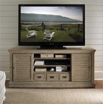Sligh Barton Creek Travis TV Console - traditional - media storage - vancouver - Cymax