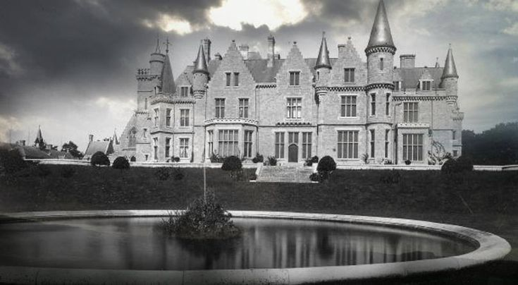Château de Noisy - A Miranda kastély - Szellemvárosok  a  világban