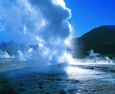 Un des 80 geysers d'El Tatio dans l'Altiplano chilien.
