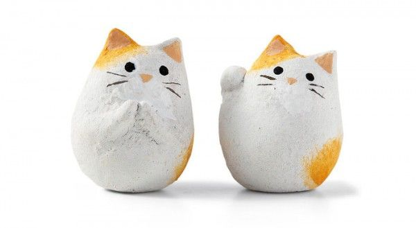 Японское печенье с кошечками