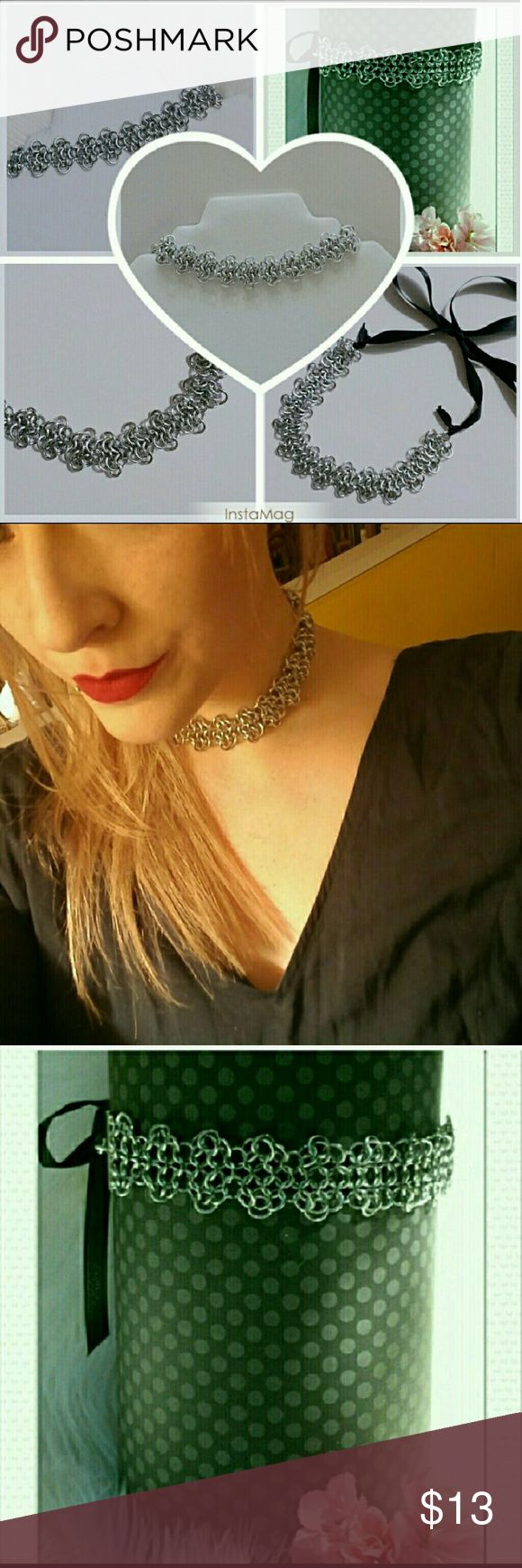 I just added this listing on Poshmark: Medieval Rosette Chainmaille Choker. #shopmycloset #poshmark #fashion #shopping #style #forsale #Jewelry