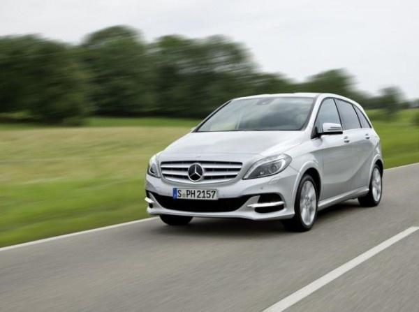 Mercedes-Benz B200 Natural Gas Drive