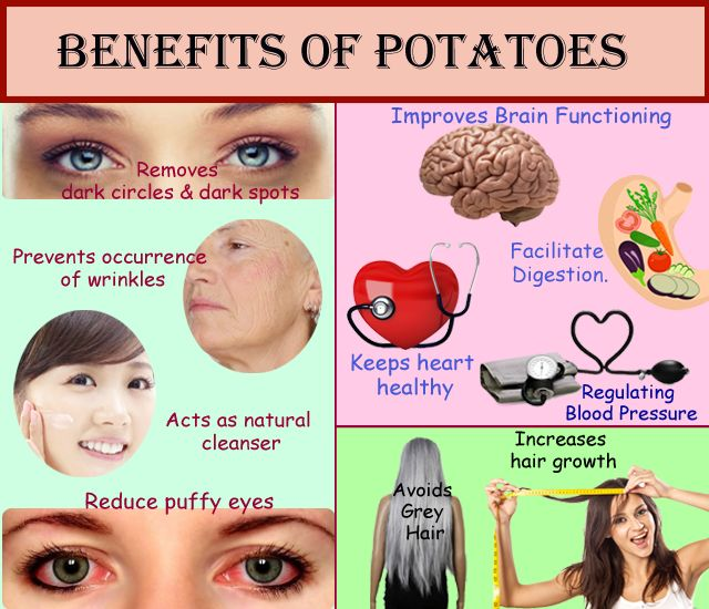 What are the benefits of Potato? Know potato nutrition facts, boiled potato nutritional values. Get potato starch health benefits list, calories in potato.