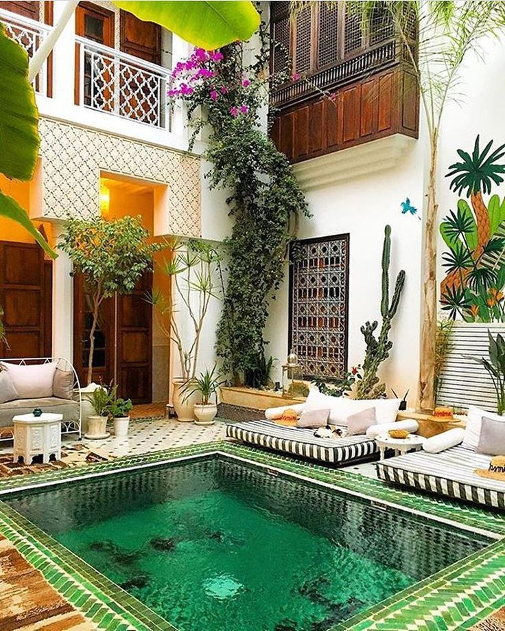 """1,696 Likes, 19 Comments - Simply Morocco (@simplymorocco) on Instagram: """"Riad yassmine - Marrakech  Vote for us on #marocwebawards link in bio Congrats  @2traveljunkiesx…"""""""