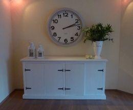 Sloophouten dressoir   wit dressoir  de Steigeraar
