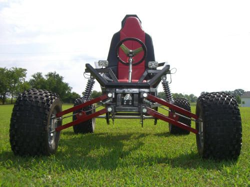 Arachnid Full Suspension Go Kart Plans by SpiderCarts