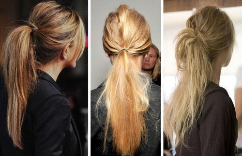 ponytail!! <3