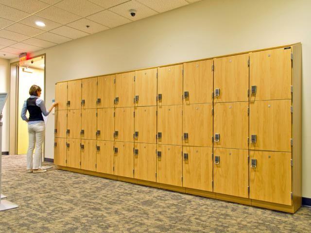 Modular Casework Day Use Lockers