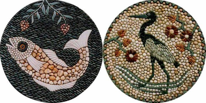 For thousands of years we have been pressing pebbles into patterns onto earthen floors. And numerous fine artists continue the tradition today.