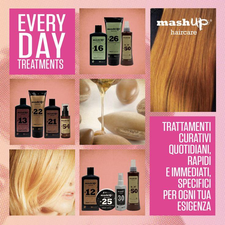 Scopri nei saloni mashup il benessere quotidiano: Every Day treatments, i trattamenti curativi quotidiani, rapidi e immediati, specifici per ogni tua esigenza.
