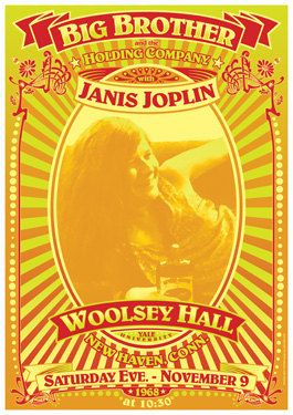 JANIS JOPLIN   special super larger size posters 36 x by tarlotoys, €35.00