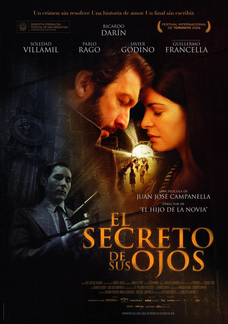 The Secret in Their Eyes [El Secreto de sus Ojos] (2009)  - Murder mystery, love story, EPIC film