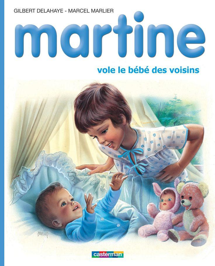 Martine vole le bébé des voisins