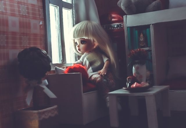 "BJD-club • Просмотр темы - Румбокс ""Стиль Лондона"". Масштаб 1/8 (PukiFee)"