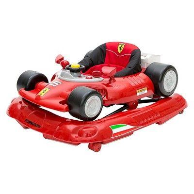 Ferrari F1 Baby Walker - Red, Red/Black
