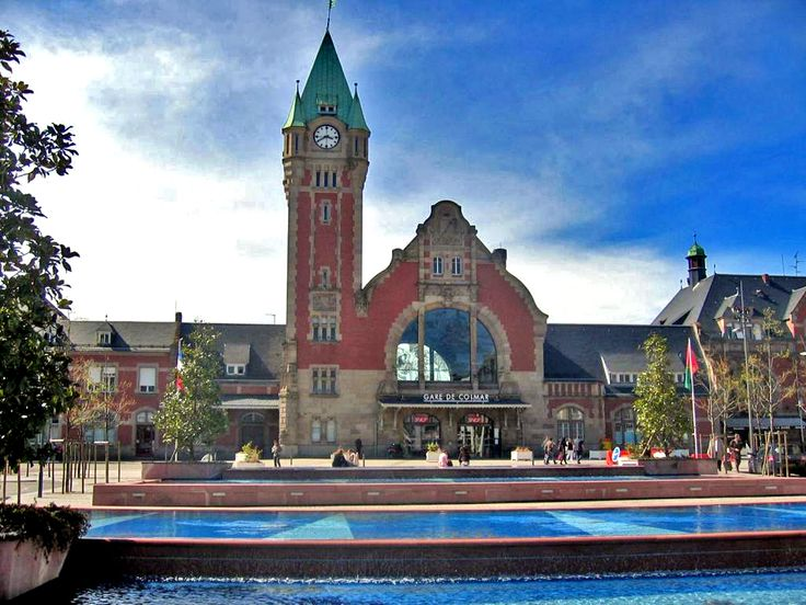 La gare de Colmar. — Train Station