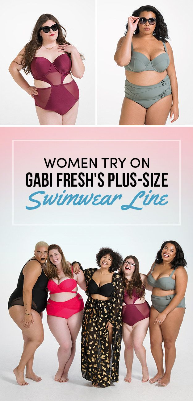 Swimsuits for ALL! Plus-Size Swimsuits by Gabi Fresh