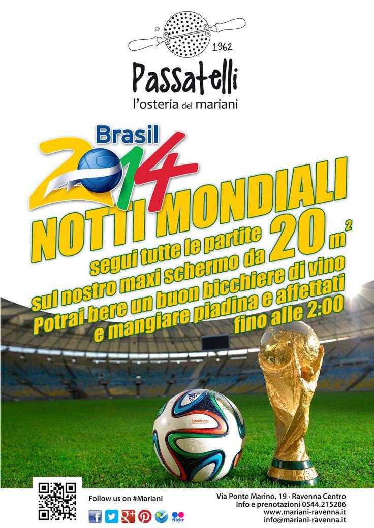 Mondiali al sapore di Romagna al Mariani