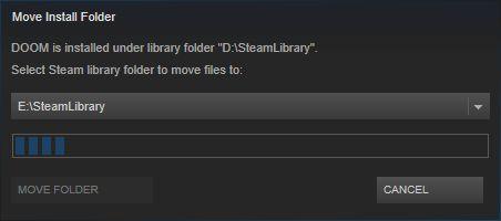 Steam zeigt den Fortschritt per Balken. (Screenshot: Golem.de)