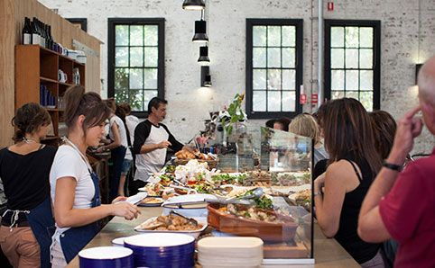 Kitchen by Mike - A former Rockpool chef is serving buffet-style lunches in a Sydney design warehouse. went yesterday - delish!