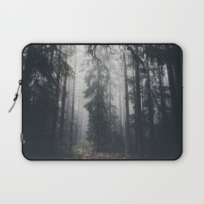 Dark paths Laptop Sleeve by HappyMelvin | Society6